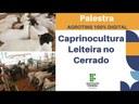 Palestra: Caprinocultura Leiteira no Cerrado