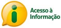 Pra Cego Ver: Logo do Acesso à Informação