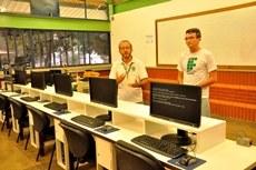 Laboratório utilizado nas aulas