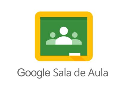 Acesse o google sala de aula