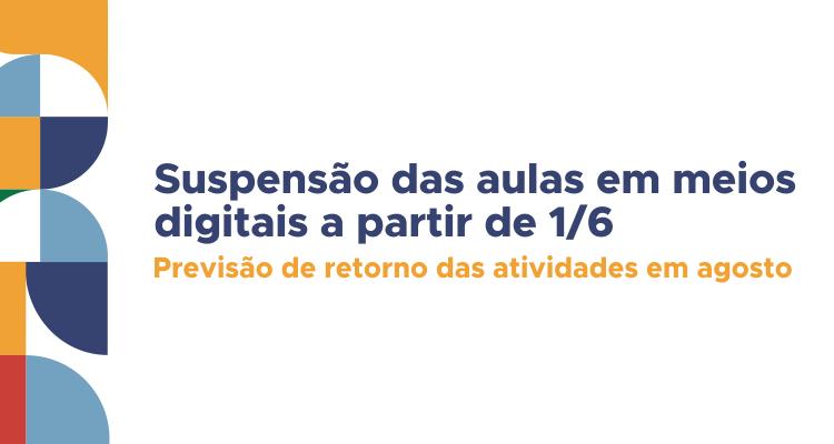 Suspensão de calendários acadêmicos no IFTO a partir do dia primeiro de junho