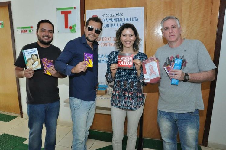 Servidores apoiam a campanha