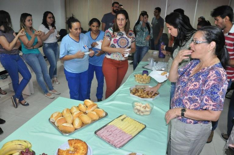 Sinasefe e PQV promovem café da manhã