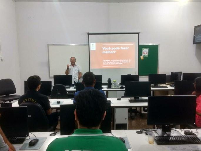 Assessoria no Campus Avançado Formoso do Araguaia