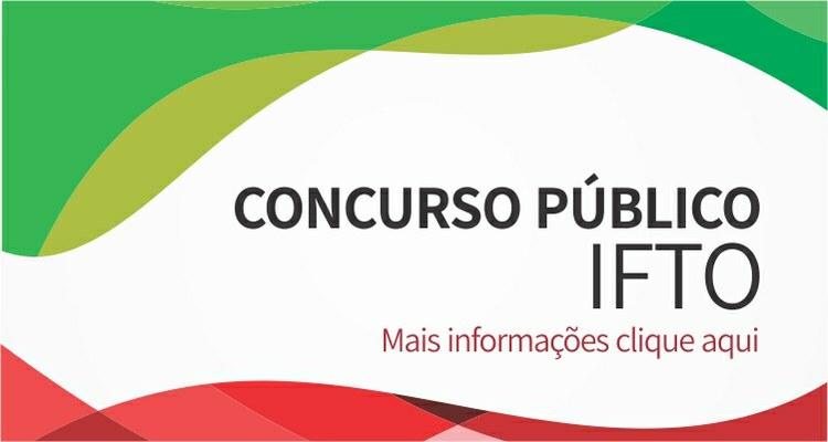 Concurso IFTO 2017