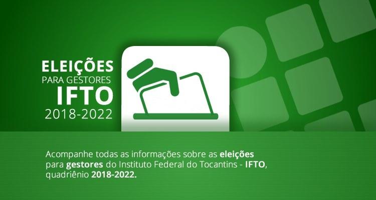 Documentos norteadores da eleição para gestores 2018-2022