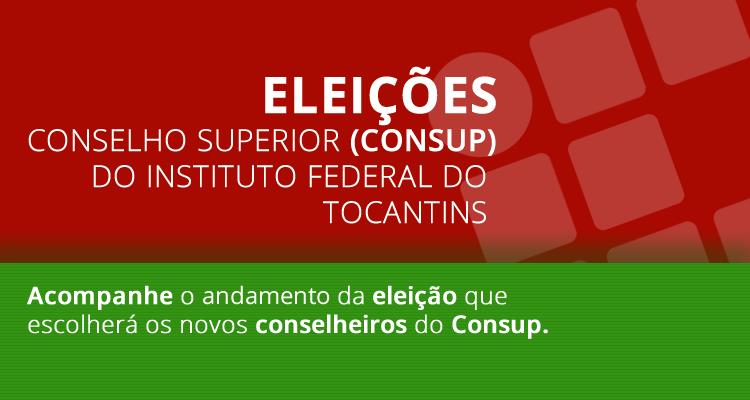 Eleição do Consup