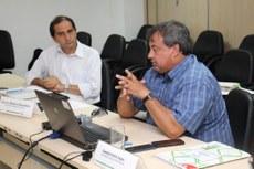 Diretor-geral Marcelo Terra durante apresentação da proposta da 8ª Jice