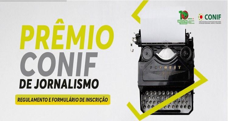 Inscrições abertas para o Prêmio Conif de Jornalismo