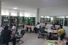 Oficina na Biblioteca do Campus Palmas