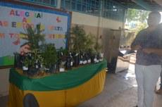 Campus Dianópolis promove doação de mudas para APAE