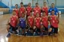 Equipe do voleibol