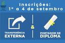 Seletivo para Transferência e Admissão IFTO Porto Nacional