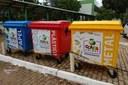 Contêineres do IFTO Recicla