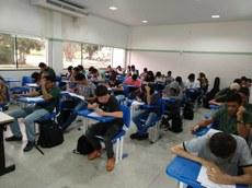 Estudante da unidade Araguatins