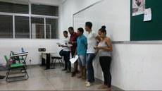 """Estudantes apresentam seminário """"Os estilos musicais da Música Popular Brasileira""""."""