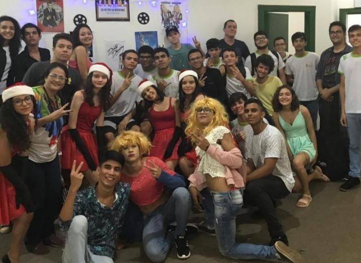 Espetáculo de estudantes