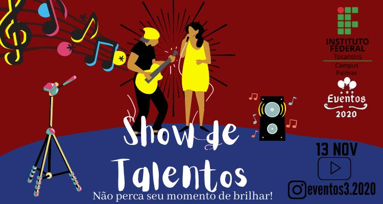 Estudantes promovem Show de Talentos online para comunidade mostrar sua arte: inscrições até 22/10