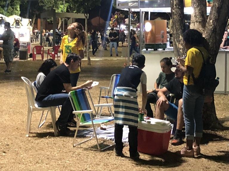 Pesquisa no Festival