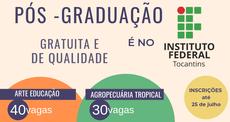 Pós-graduação, inscrições até 25 de julho
