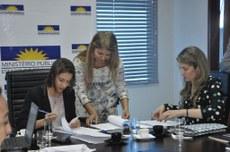 Reunião foi realizada na sede do MPE