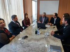 Reunião com Secretário Nacional de Petróleo, Gás e Biocombustíveis