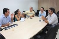 Profissionais do IFTO reunidos para discutir construção do PPC do curso de Tecnologia em Gestão Pública, na modalidade EaD.