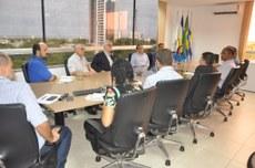 Reunião com Comissão Avaliadora