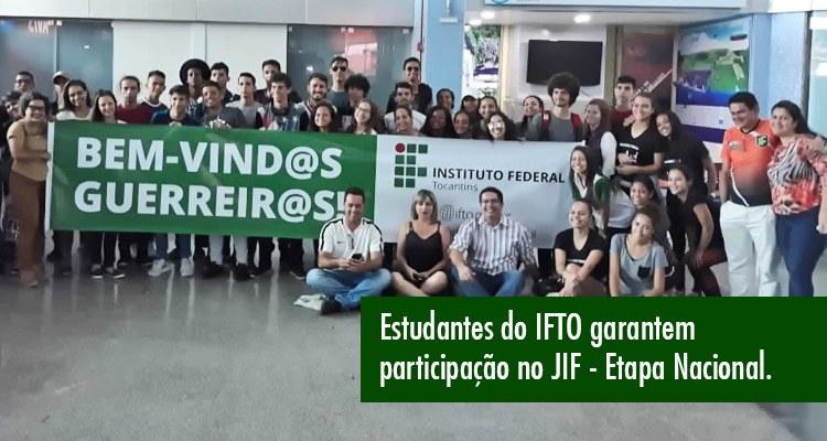 IFTO presente no JIF Norte