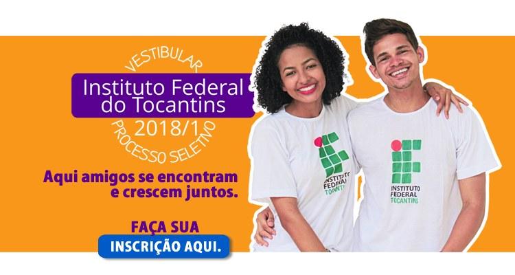 IFTO recebe doações de alimentos para inscrições do Processo Seletivo e Vestibular 2018/1