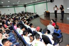 Participantes conheceram mais sobre a Libras e a importância dessa linguagem para os surdos