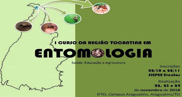 Inscrição para curso de Entomologia seguem até dia 22 de novembro