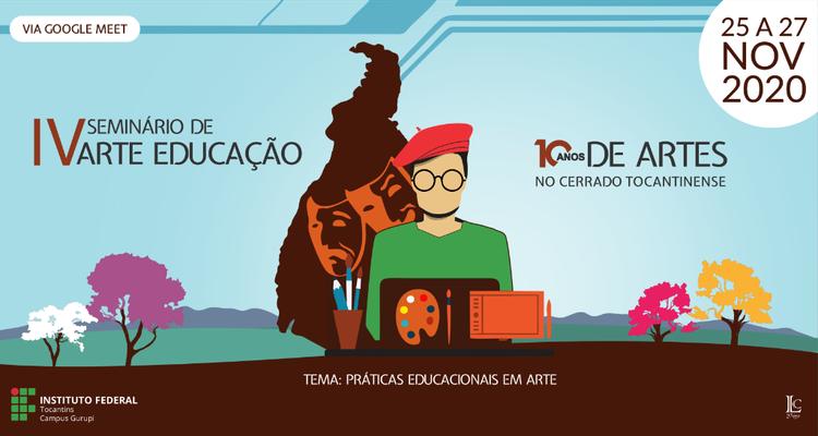Inscrições abertas para o IV Seminário de Arte-Educação