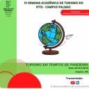 IV SEMANA ACADÊMICA DE TURISMO DO IFTO CAMPUS PALMAS