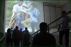 Aniversário do campus foi palco da mostra, que expôs resultado da visita ao Monumento das Árvores Fossilizadas