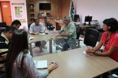 Reunião entre equipes do IFTO e Sead