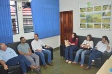 A visita teve como objetivo aproximar a gestão das comunidades locais do IFTO