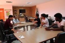 Representantes solicitaram apoio para realização do Coneifto e participação em evento