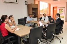 Durante a reunião, foram apresentadas algumas das parcerias entre o IFTO e o Canadá