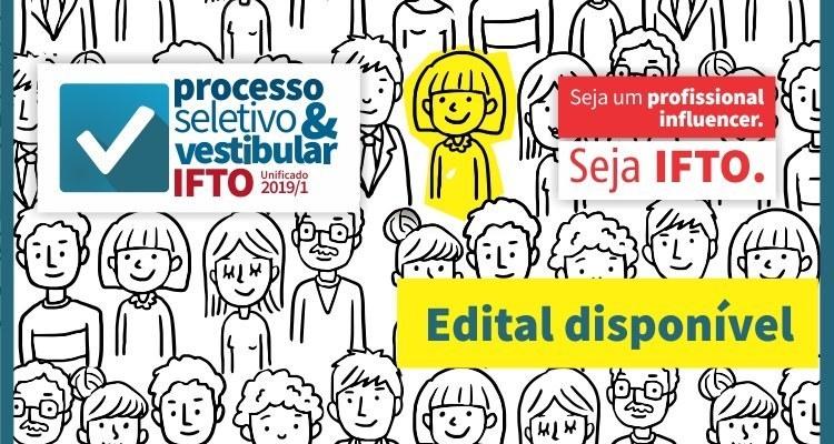 Inscrições prorrogadas do Processo Seletivo e Vestibular do IFTO