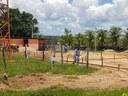 Construção do refeitório em Dianópolis