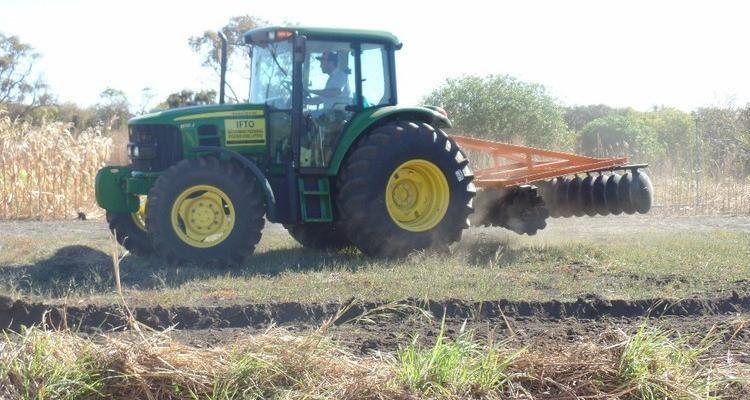 Unidade recebe maquinário para atividades agrícolas