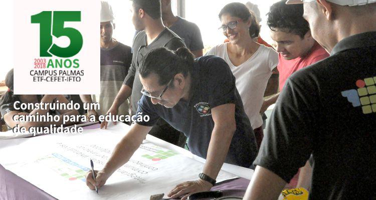 4 de abril Aniversário do Campus Palmas