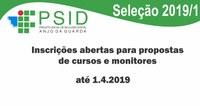 Inscrições abertas para propostas de cursos e monitores
