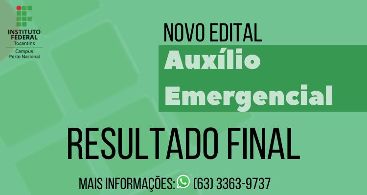 Confira o resultado final da seleção do novo auxílio emergencial